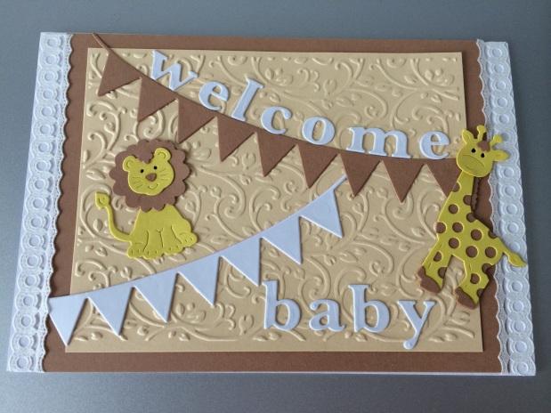 Karte Baby /Geburt