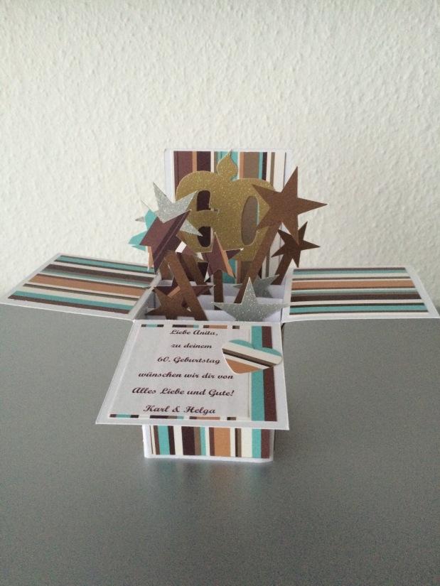 "Karte Zahlengeburtstag Geburtstag ""Card in aBox"""