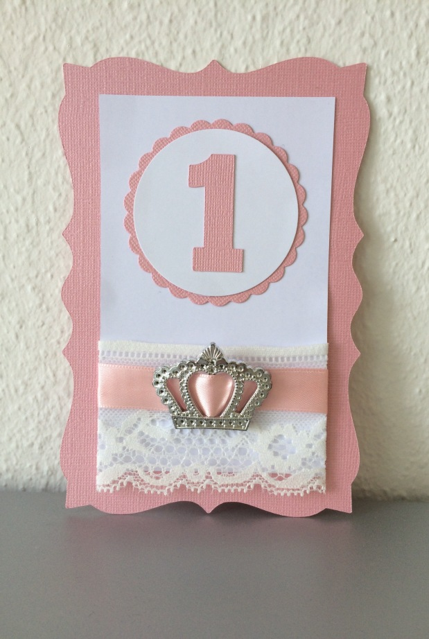 Einladung Kindergeburtstag Prinzessin*rosa*