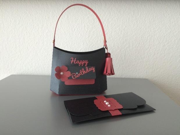 Geldgeschenk Tasche Geburtstag