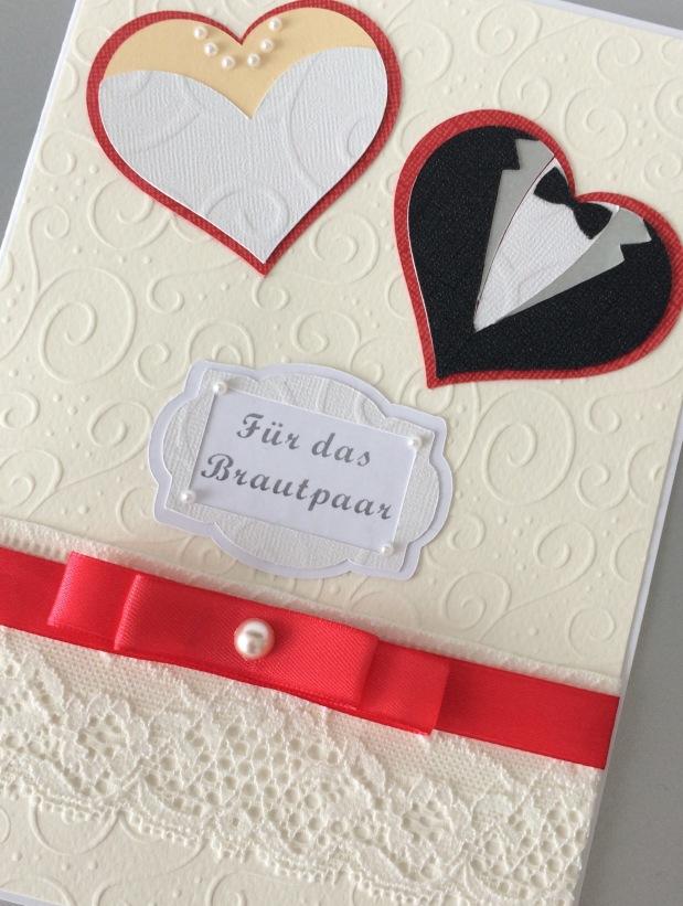 Karte Hochzeit / Geldgeschenk