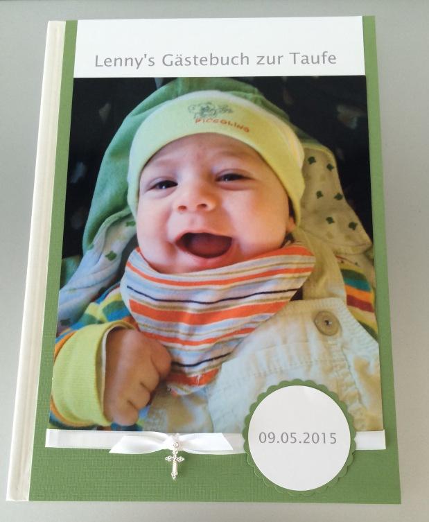 Gästebuch Taufe Junge*grün*