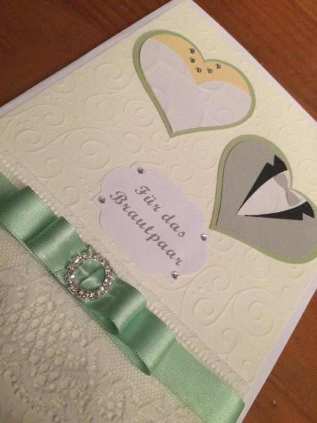Geldgeschenk Karte Hochzeit