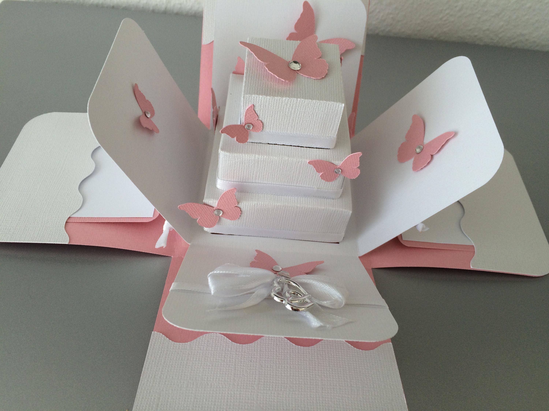 Exploding Box Butterflycards