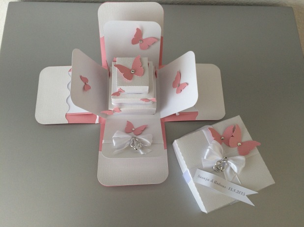 Exploding Box Hochzeit