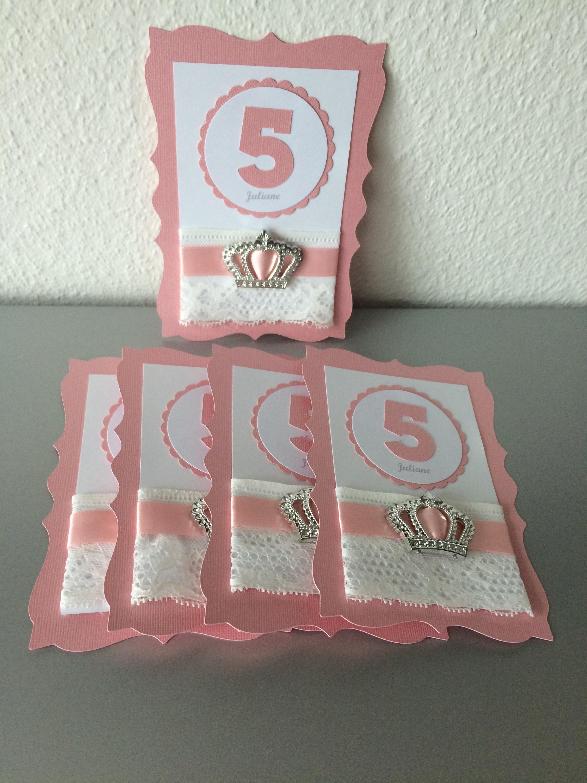 geburtstag m dchen einladung prinzessin butterflycards. Black Bedroom Furniture Sets. Home Design Ideas