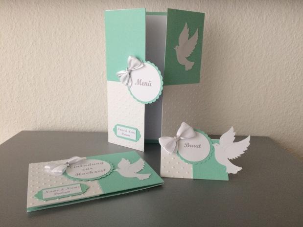 Set Hochzeit *mint/aquamarin*