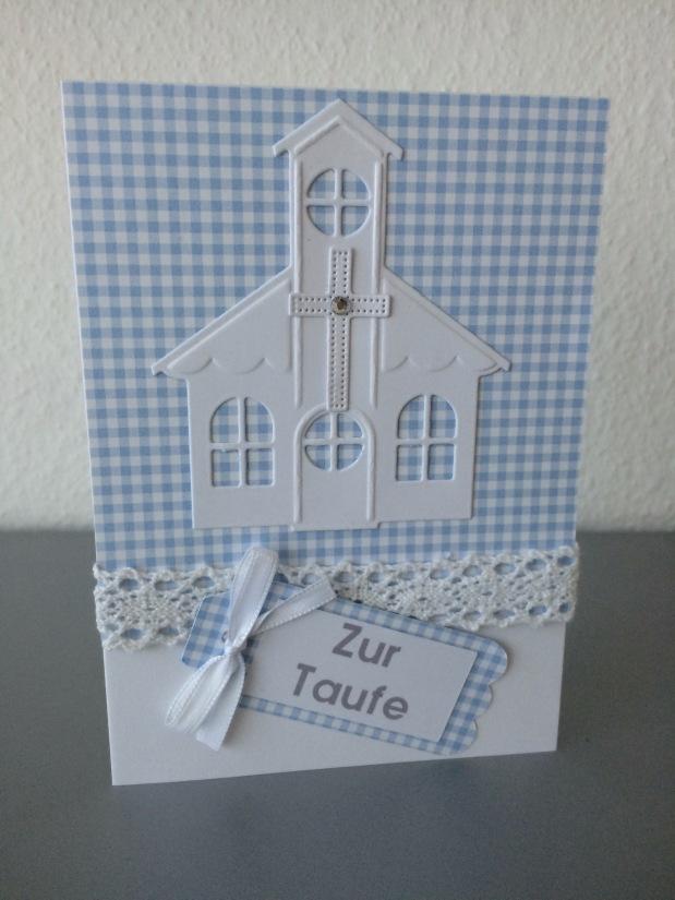 Karte zur Taufe / Einladung zurTaufe