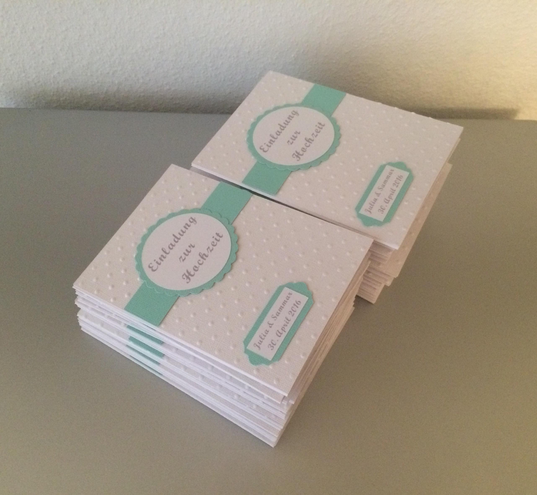 Einladung Zur Hochzeit In Einer Wunderschönen Farbe Und Mit Pocketfolder  (Einsteckkarten) Für Alle Wichtigen Informationen.