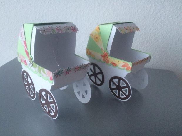 3D Kinderwagen &Karten