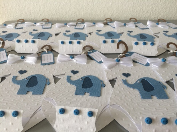Einladung Taufe / Battesimo Babybody Karte Junge