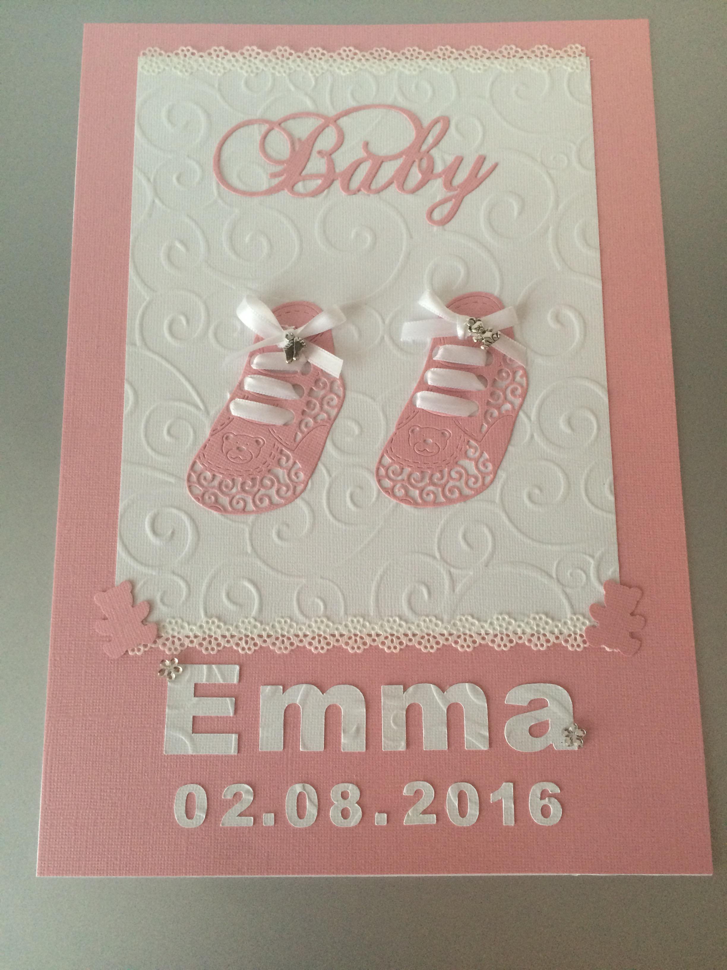 Geburtsanzeige Butterflycards