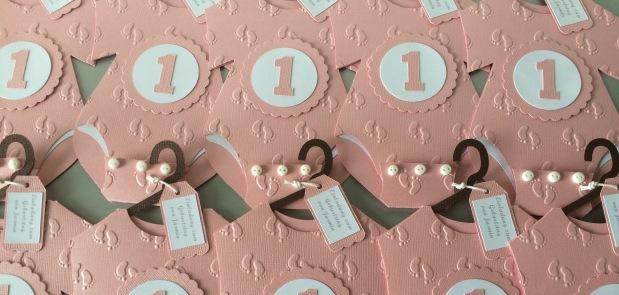 Einladung 1. Geburtstag,Babybody-Karte
