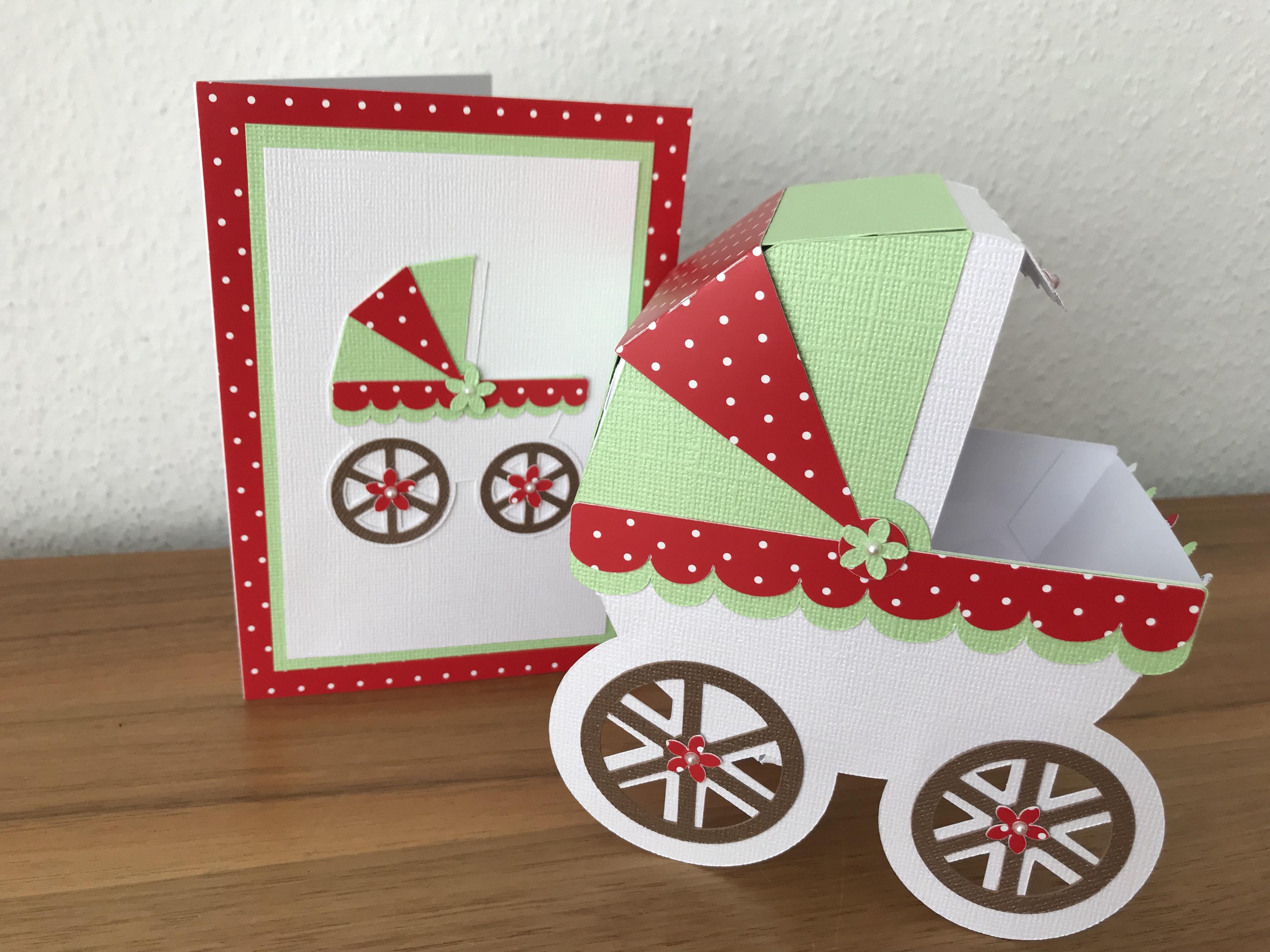Babyparty Butterflycards