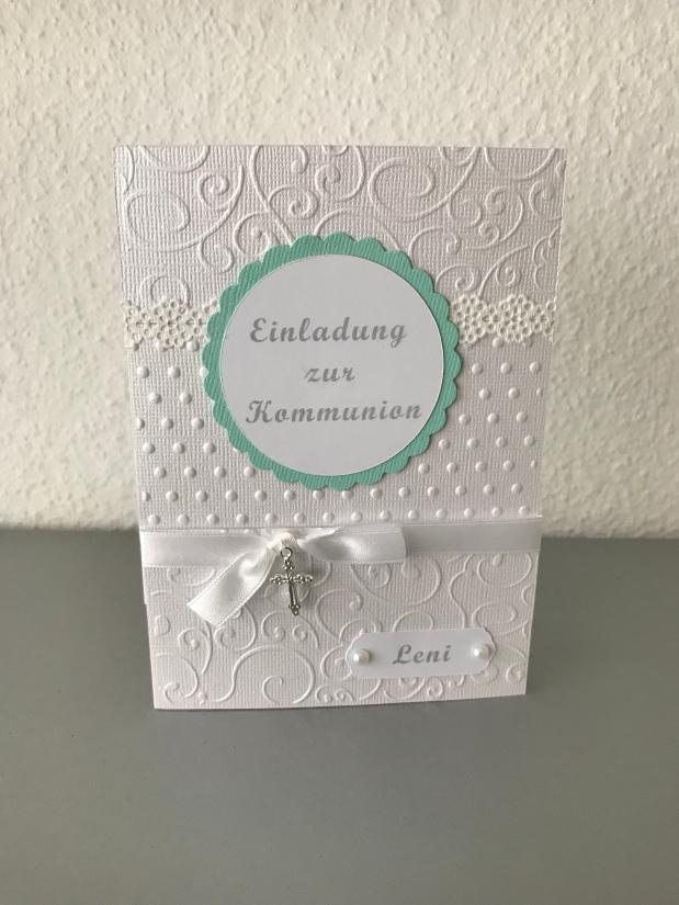 Einladung zur Kommunion /Konfirmation