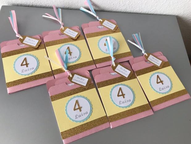 Einladung zum Kindergeburtstag *Mädchen*
