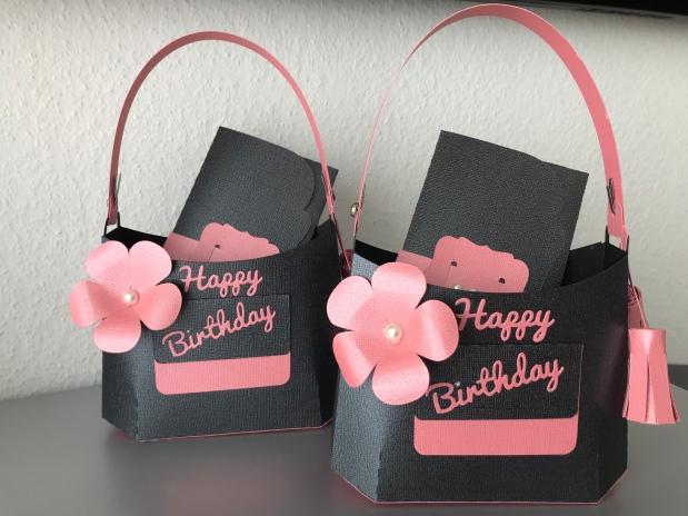 Geldgeschenk Geburtstag Tasche