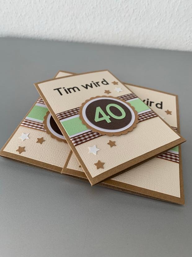 Einladung 40. Geburtstag